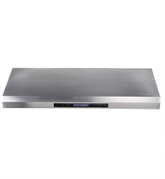 "Cavaliere AP238-PS65-42 42"" Stainless Steel Under Cabinet Mount Range Hood"