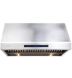 "Cavaliere AP238-PS81-36 36"" Stainless Steel Under Cabinet Mount Range Hood"