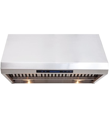 "Cavaliere AP238-PS85-42 42"" Heavy Duty Stainless Steel Under Cabinet Mount Range Hood"