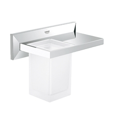 Grohe Allure Brilliant Shelf With Tumbler