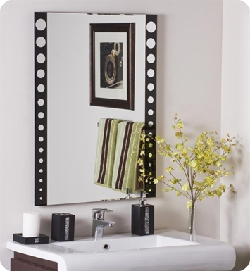 Decor Wonderland SSM179 Santa Clara Frameless Wall Mirror