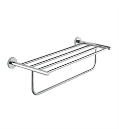 Grohe Essentials Multi-Towel Rack in Chrome