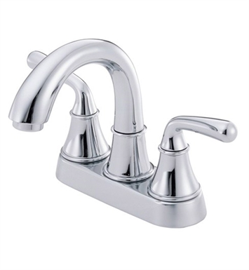 Danze D301056 Bannockburn™ Two Handle Centerset Lavatory Faucet in Chrome