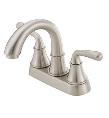 Danze D301056BN Bannockburn™ Two Handle Centerset Lavatory Faucet in Brushed Nickel