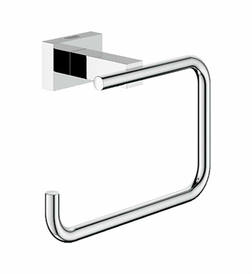 grohe 40507000 essentials cube toilet paper holder in chrome. Black Bedroom Furniture Sets. Home Design Ideas