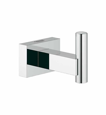 grohe 40511000 essentials cube robe hook in chrome. Black Bedroom Furniture Sets. Home Design Ideas
