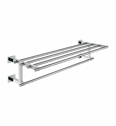 Grohe Essentials Cube Towel Rail in Chrome
