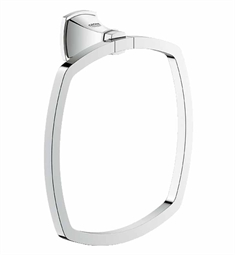 Grohe Grandera Towel Ring in Chrome