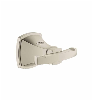 Grohe 40631EN0 Grandera Robe Hook in Brushed Nickel