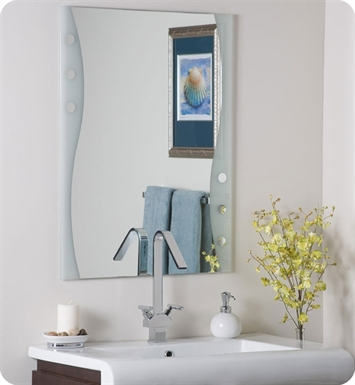 Decor Wonderland Bubbles Frameless Wall Mirror