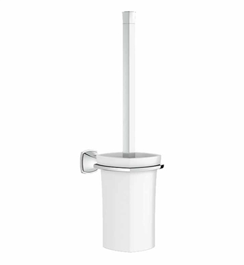 Grohe 40632000 Grandera Toilet Brush Set in Chrome