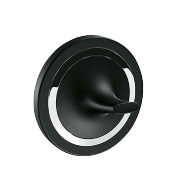 Grohe 40378KS0 Ondus Robe Hook in Velvet Black