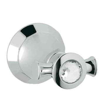Grohe 40226VP0 Kensington Robe Hook in Chrome with Swarovski Crystal