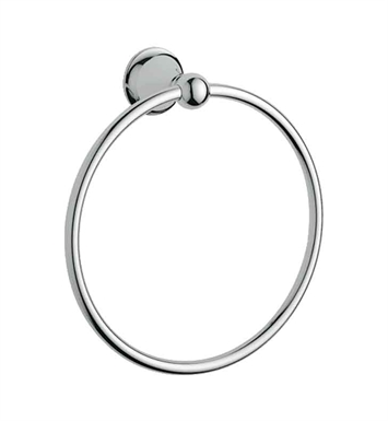 Grohe 40158000 Seabury Towel Ring in Chrome