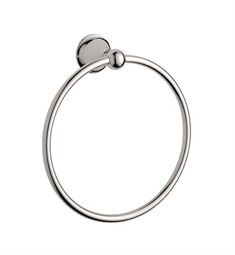 Grohe Seabury Towel Ring in Polished Nickel