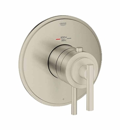 Grohe Atrio Single Function Thermostatic Trim with Control Module in Brushed Nickel