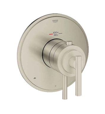 Grohe 19849EN0 GrohFlex Timeless Dual Function Thermostatic Trim with Control Module in Brushed Nickel Finish