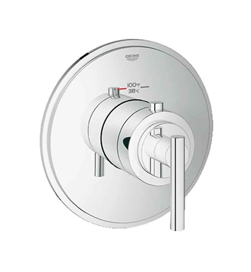 Grohe 19865000 Atrio Custom Shower Thermostatic Trim with Control Module in Chrome