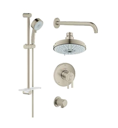 Grohe GrohFlex Shower Set in Brushed Nickel