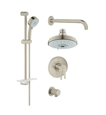Grohe 35056EN0 GrohFlex Shower Set in Brushed Nickel