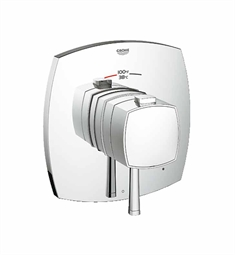 Grohe Grandera Single Function Thermostatic Trim with Control Module in Chrome