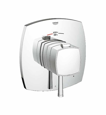 Grohe 19935000 Grandera Single Function Thermostatic Trim with Control Module in Chrome