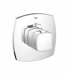 Grohe Grandera Custom Shower Thermostatic Trim with Control Module in Chrome