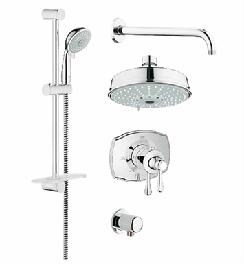 Grohe 35054000 GrohFlex Shower Set in Chrome