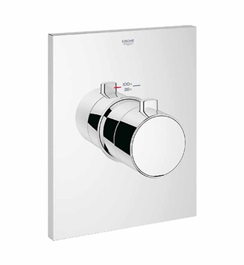 Grohe 27620000 Grohtherm F Thermostatic Trim with Temperature Control Module in Chrome