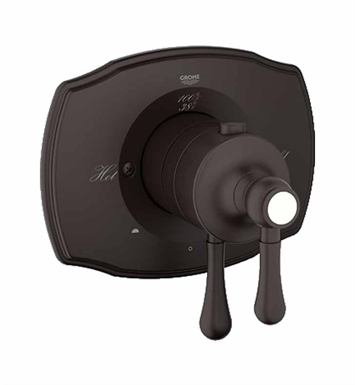 Grohe 19825ZB0 Grohtherm 2000 Authentic Dual Function Thermostatic Trim with Control Module in Oil Rubbed Bronze