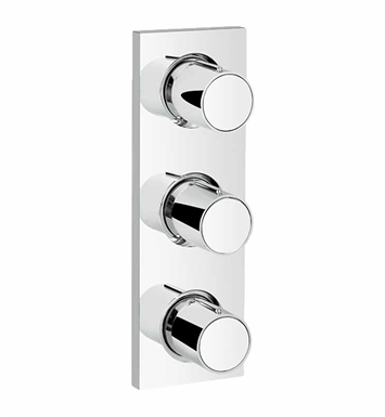 Grohe 27625000 Grohtherm F Triple Volume Control Trim in Chrome