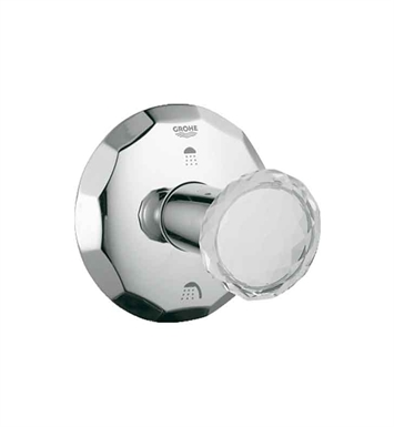 Grohe 19271VP0 Kensington 3-Way Diverter in Chrome with Swarovski Crystal