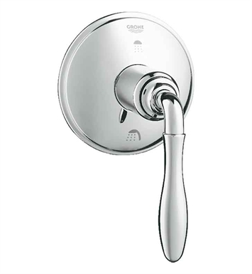 Grohe 19221000 Seabury 3-Way DiverterTrim in Chrome
