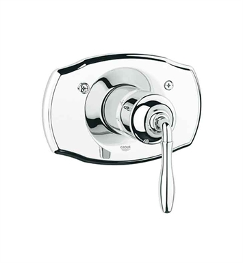 Grohe 19614ZB0 Seabury Central Thermostatic Mixer in Oil Rubbed Bronze