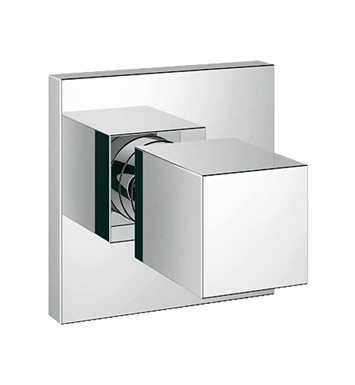 Grohe 19910000 Universal Cube Volume Control Trim in Chrome