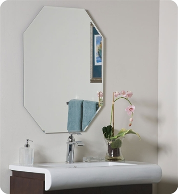 Decor Wonderland SSM203 8 Sided Frameless Bevel Mirror