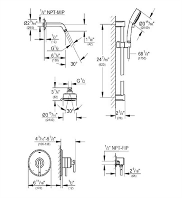 Info Tubspouts as well B00RVPZ39U also Tub And Shower Faucet Trim Victorian Collection Chrome Finish Single Handle further Radiant Floor Heating Piping Diagram as well Cd4 01 C2s Pc. on shower rough in valve installation