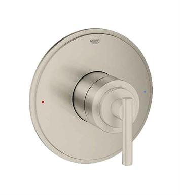 Grohe 19866EN0 Atrio Single Function Pressure Balance Trim with Control Module in Brushed Nickel