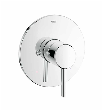 Grohe 19457001 Concetto Pressure Balance Valve Trimset in Chrome