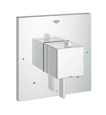 Grohe 19925000 Eurocube Dual Function Pressure Balance Trim with Control Module in Chrome