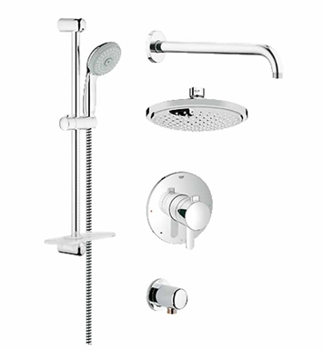 Grohe 35051000 GrohFlex Shower Set in Chrome