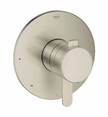 Grohe 19881EN0 Europlus Dual Function Pressure Balance Trim with Control Module in Brushed Nickel
