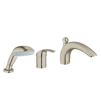 Grohe 32644EN1 Eurosmart Roman Tub Filler in Brushed Nickel