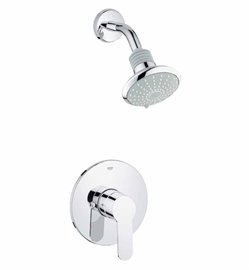 Grohe 35023002 Eurostyle Cosmopolitan Pressure Balance Valve Shower Combination in Chrome