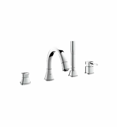 Grohe Grandera Roman Tub Filler in Chrome