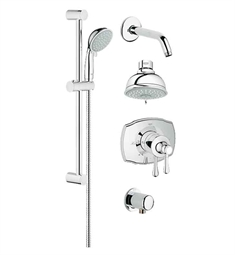 Grohe GrohFlex Shower Set in Chrome