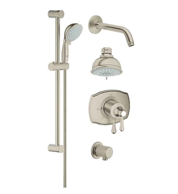 Grohe 35053EN0 GrohFlex Shower Set in Brushed Nickel