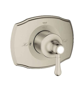 Grohe 19843EN0 GrohSafe 2000 Authentic Single Function Pressure Balance Trim with Control Module in Brushed Nickel