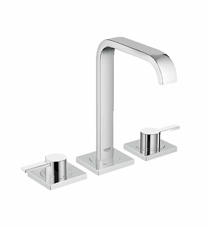 Grohe Bathroom Faucets : GR-20191000 Grohe Allure Widespread Bathroom Faucet in Chrome