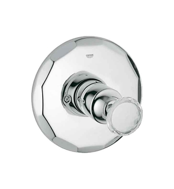 Grohe 19268VP0 Kensington Pressure Balance Valve Trimset in Chrome with Swarovski Crystal
